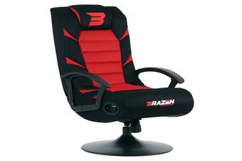 PRE-ORDER: Brazen Pride 2.1 Bluetooth Surround Sound Gaming Chair (Red)