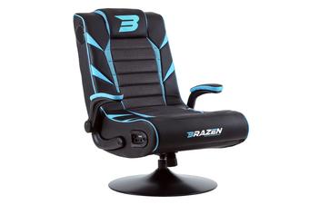 PRE-ORDER: Brazen Panther 2.1 Bluetooth Surround Sound Gaming Chair (Blue)