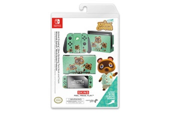 Controller Gear Animal Crossing Tom Nook Switch Skin & Screen Protector Set