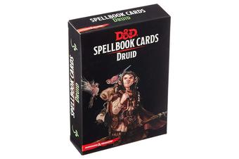 Dungeons & Dragons Spellbook Cards: Druid