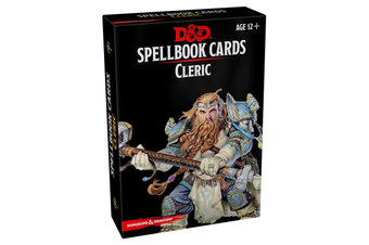Dungeons & Dragons Spellbook Cards: Cleric