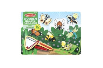 Melissa & Doug Bug Catching Magnetic Puzzle Game