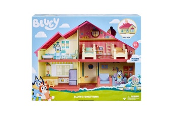 PRE-ORDER: Bluey Family Home Playset