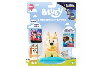 Bluey GoGlow Bingo Buddy Night Light & Torch