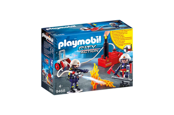 Playmobil Firefighters with Water Pump Set