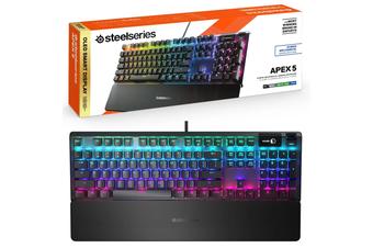 Steelseries Apex 5 Hybrid RGB Mechanical Gaming Keyboard