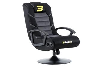 PRE-ORDER: Brazen Pride 2.1 Bluetooth Surround Sound Gaming Chair (Grey)