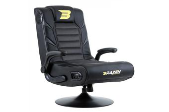 PRE-ORDER: Brazen Panther 2.1 Bluetooth Surround Sound Gaming Chair (Grey)