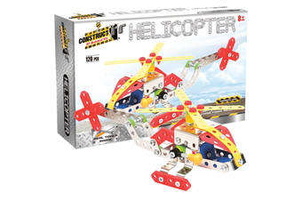 Construct It DIY Mechanical Kit Helicopter