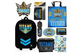 NRL Gold Coast Titans Showbag