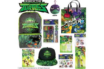 Rise of the Teenage Mutant Ninja Turtle Showbag