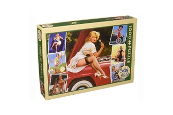 Cobble Hill Roadside Attractions 1000 Piece Vintage Jigsaw Puzzle