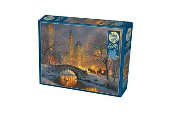 Cobble Hill Winter In The Park 500 Piece Vintage Jigsaw Puzzle