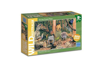 Blue Opal Wild Australia On the Forest Floor 200 Piece Jigsaw Puzzle