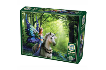 Cobble Hill Realm of Enchantment, Anne Stokes 1000 Piece Jigsaw Puzzle