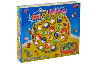 Battery Operated Lets Go Fishing Game