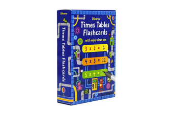 Times Tables Flashcards With Marker