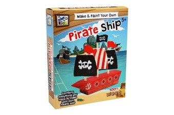 Make And Paint Your Own Pirate Ship
