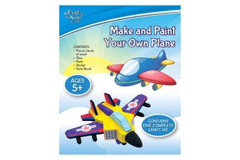 Make & Paint Your Own Plane Activity Kit