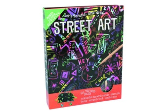 Scratch And Draw Street Art Educational Set