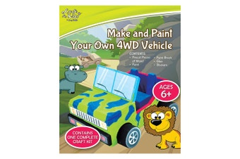 Make & Paint Your Own 4WD Vehicle Activity Kit