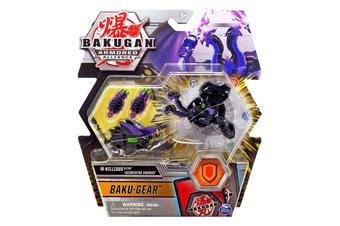 Bakugan Armored Alliance Baku-Gear Nillious Ultra + Scorching Swords