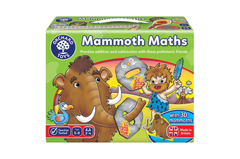 Orchard Toys Mammoth Maths Educational Game