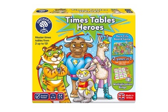 Orchard Toys Times Tables Heroes Educational Toys