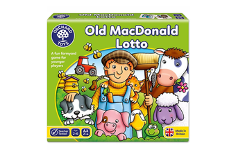 Orchard Toys Old MacDonald Lotto Board Game