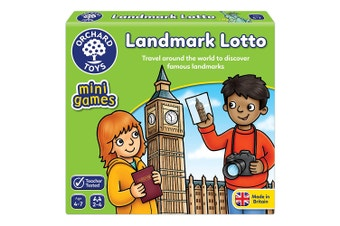 Orchard Toys Landmark Lotto Tile Game