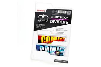 Ultimate Guard Premium Comic Book Dividers (White)
