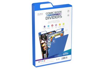 Ultimate Guard Premium Comic Book Dividers (Blue)