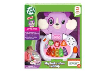 LeapFrog Peek-a-Boo LapPup Violet Educational Toy