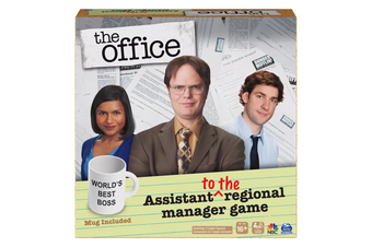 The Office Assistant to the Regional Manager Board Game