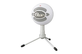 PRE-ORDER: Blue Snowball iCE Professional USB Microphone (Ice White)