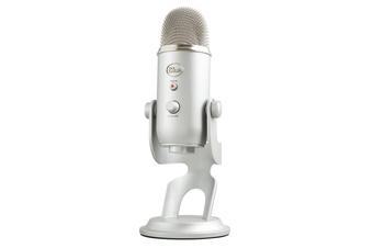 PRE-ORDER: Blue Yeti Silver Professional USB Microphone