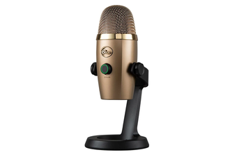 Blue Yeti Nano Cubano Gold Professional USB Microphone