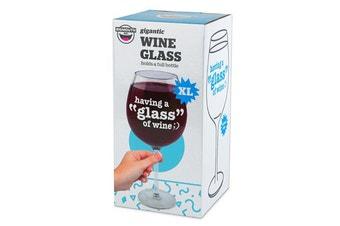 Bigmouth Inc Having a Glass Gigantic Wine Glass