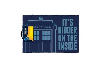 Doctor Who Bigger on the Inside Tardis Door Mat