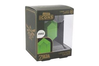 Paladone Legend Of Zelda Green Rupee 3D Light