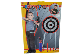 Archery Set with Target Stand