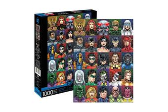 DC Comics Faces 1000 Piece Jigsaw Puzzle
