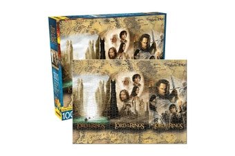 Lord of the Rings Triptych 1000 Piece Jigsaw Puzzle