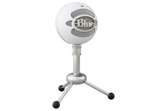Blue Snowball Professional USB Microphone (Textured White)