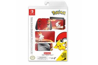 Controller Gear Pokemon Scorbunny Switch Skin & Screen Protector Set
