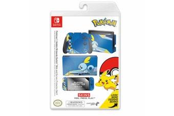Controller Gear Pokemon Sobble Switch Skin & Screen Protector Set