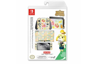 Controller Gear Animal Crossing Ripe for The Picking Switch Skin & Screen Protector Set