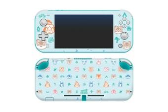 Controller Gear Animal Crossing Outdoor Pattern Switch Lite Skin Set