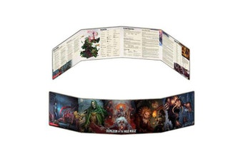 Dungeons & Dragons Waterdeep Dungeon of the Mad Mage Dungeon Masters Screen