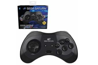 Retro-Bit Sega Saturn Bluetooth Arcade Controller for PC